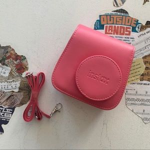 Instax | Pink Camera Case for Mini